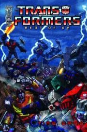 Transformers Best Of The UK Time Wars #3 (2008) IDW Publishing comic book